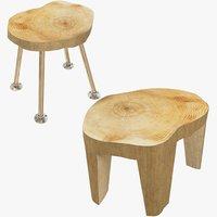 3D stools loft