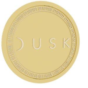 dusk network gold coin 3D model