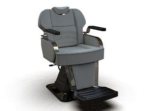 man barber chair 6601-1 3D model