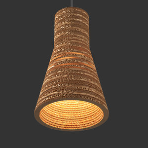 tabithabargh carton c3 lamp 3D model