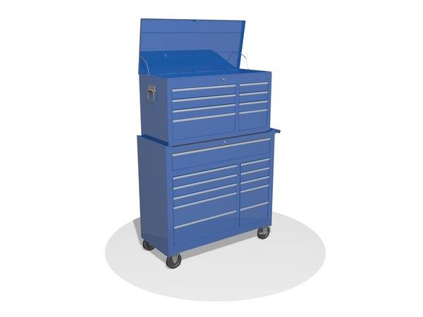 3D cabinet cupboard locker