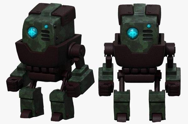 robot cyborg p model