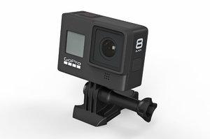 action camera gopro 3D model