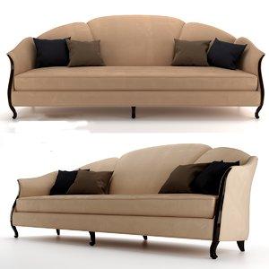 3D comfortable sofa