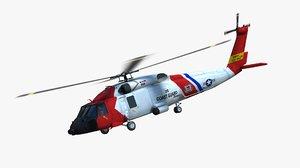 mh-60t jayhawk uscg 3D model