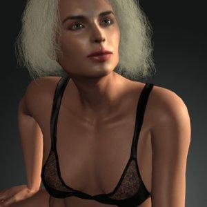 3D realistic miranda uw model