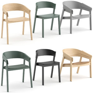 3D model cover chair muuto