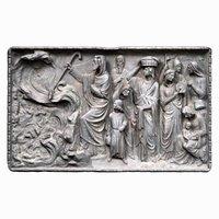 3D religious relief