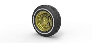 3D wheel wire diecast