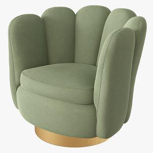 green swivel 3D