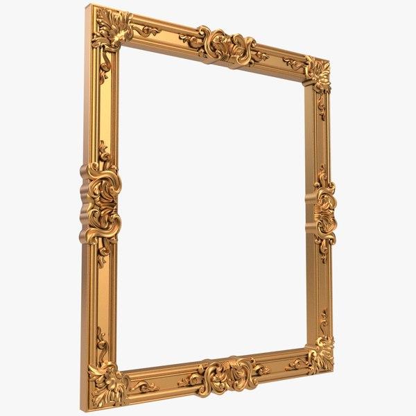 frame cnc 3D model