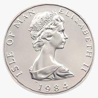 platinum noble 1984 3D model