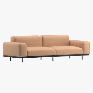arflex naviglio sofa 3D