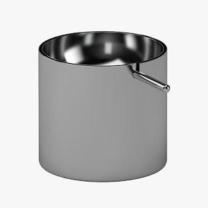 ashtray ash model