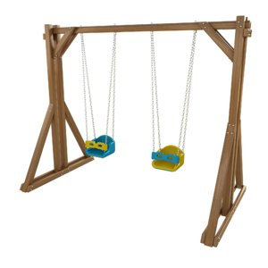 seesaw playground wooden swing model