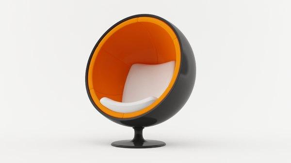 ball chair 3D