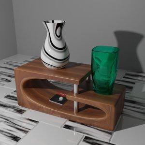 3D table jar