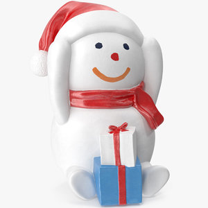 snowman gifts model