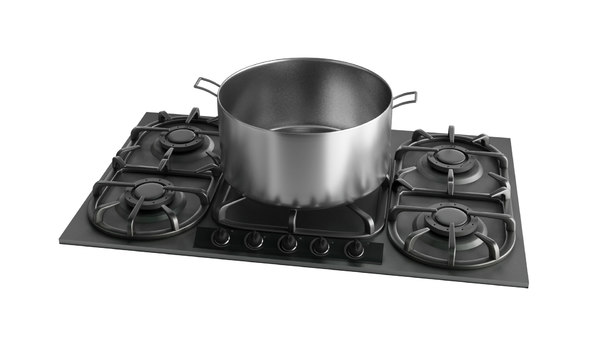 oven cooker stove 3D model
