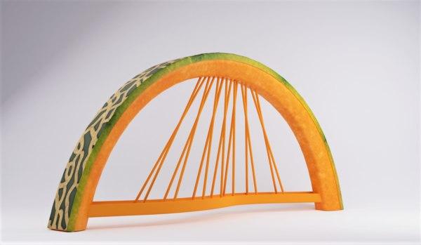 honeydew bridge 3D model