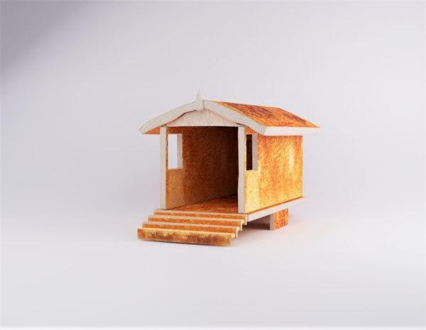 3D toast house model