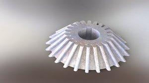 pinion bevel gear 3D model