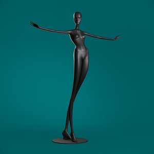 windowfrance mannequin 604 coll 3D model