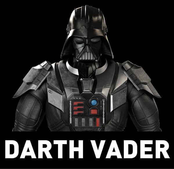 3D star wars darth model