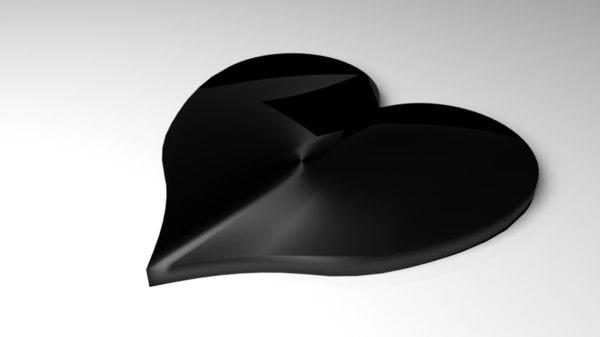3D symbol heart