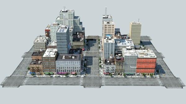 new york city 4 3D model