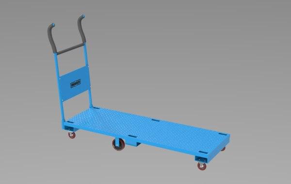 3D freight roughneck model