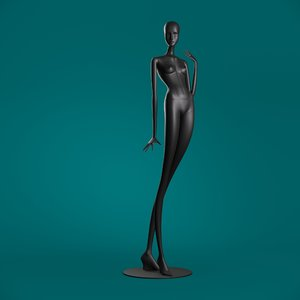 windowfrance mannequin 6013 coll 3D model