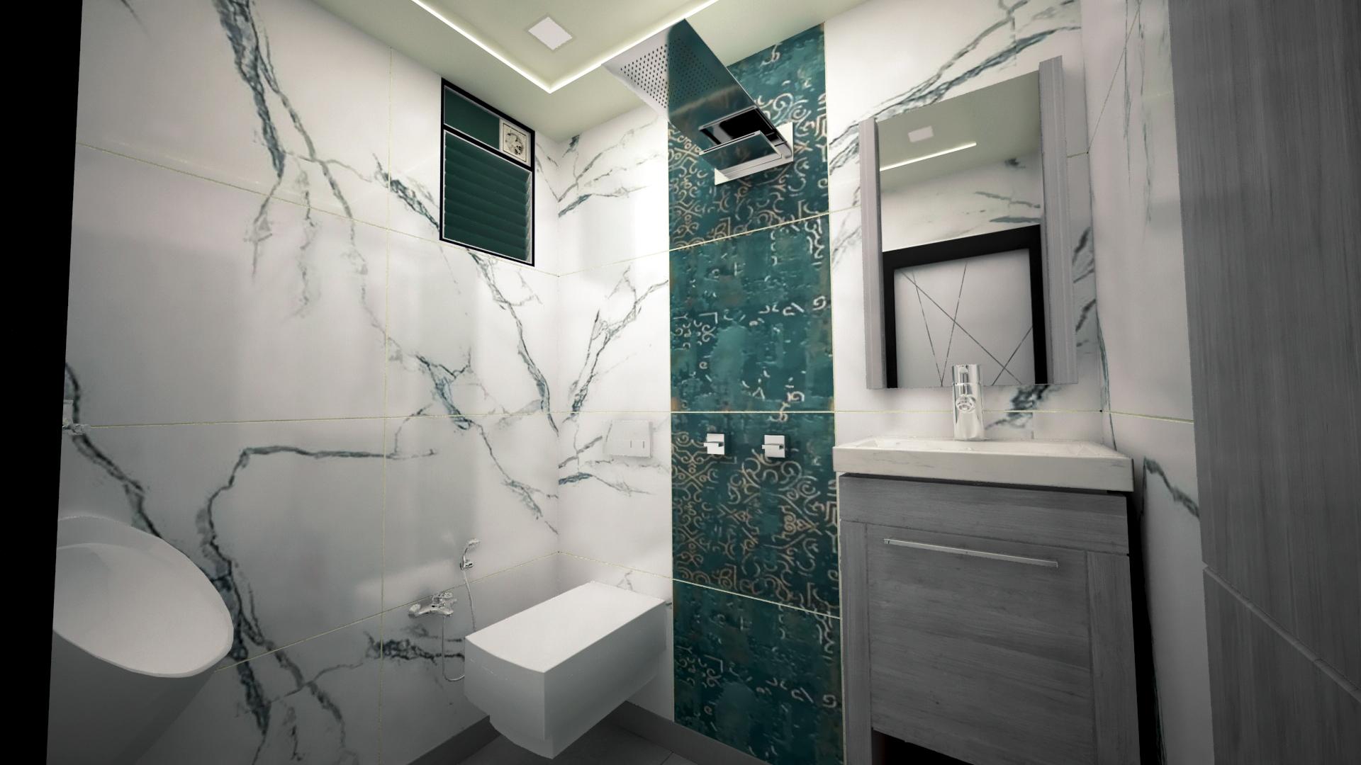 3D model toilet design