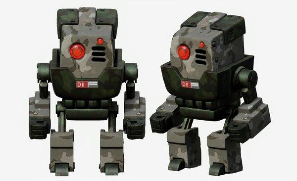 robot cyborg p 3D model