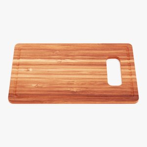 3D cooking board