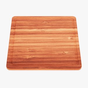 3D model cooking board