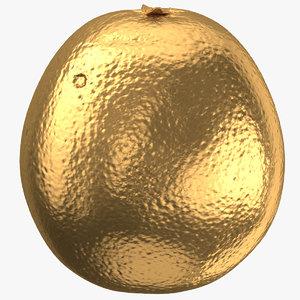 grapefruit 06 gold 3D model