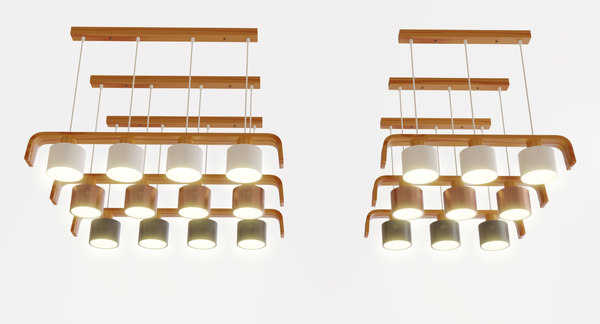 lamp kitchen 3D model