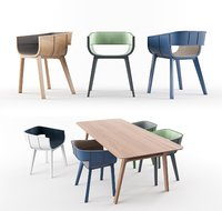 Nice modern table with 6 chair