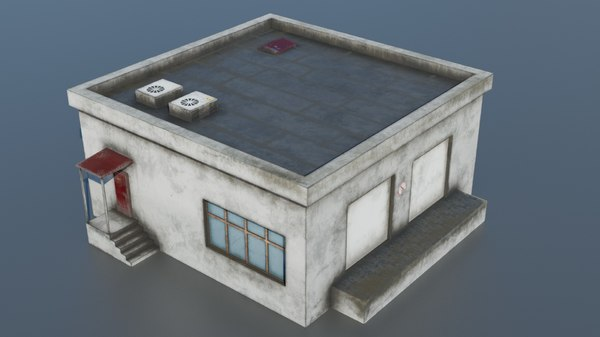 3D building warehouse model