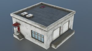 3D building warehouse model
