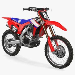 motocross bike honda crf250r 3D