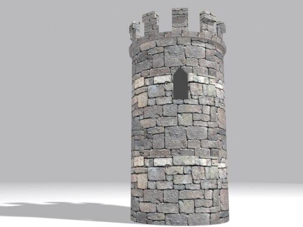 3D fort castle