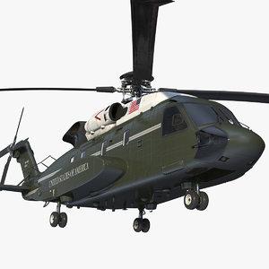 sikorsky vh-92 marine 3D