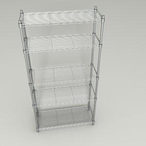 3D bakers rack