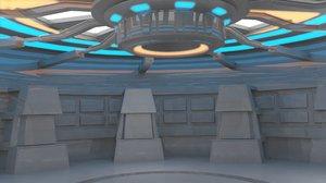 sci fi room model