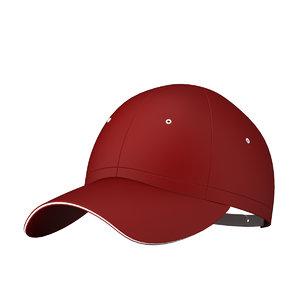 3D baseball cap ball