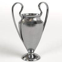 3D sport trophy cup model