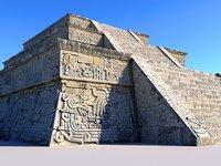 Pyramid Xochicalco Scan 16K