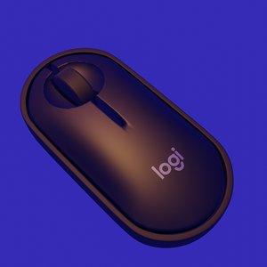 3D logi mouse model